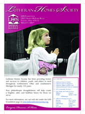 Lutheran Homes society ad